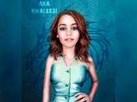 Emillia Clarke aka Khaleesi Caricature