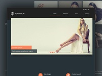 Portfolia Adobe Muse Theme For Creatives