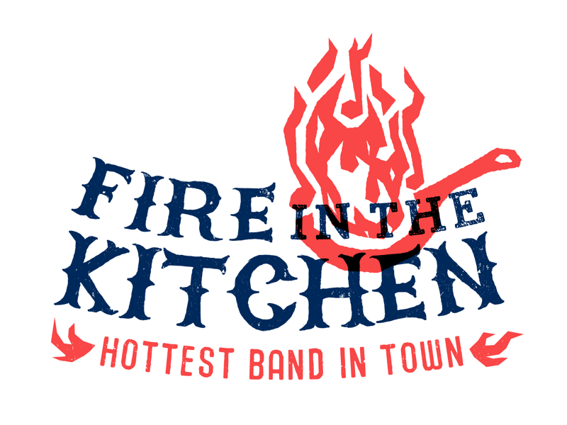 Fire In The Kitchen band logo