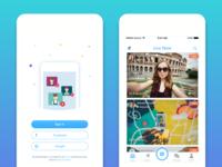 Live Stream App design
