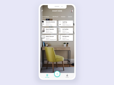 Smart Home smart home vietnam ios flat application design app mobile ux design uid