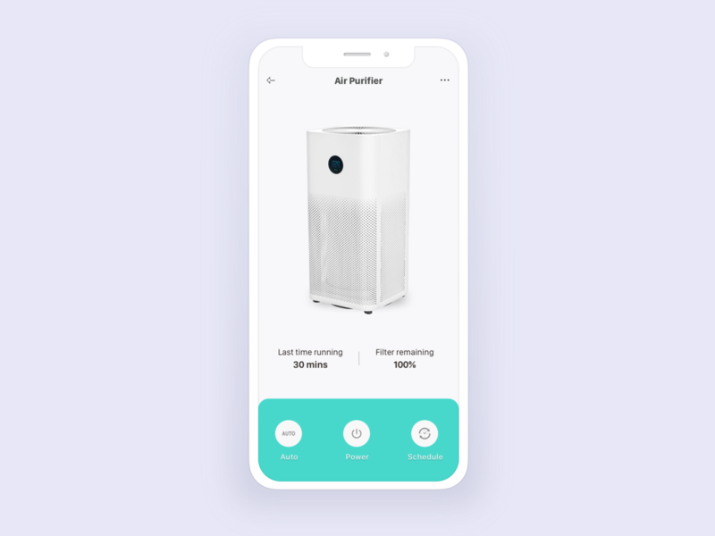 Product detail screen vietnam design design app ios ui  ux smarthome
