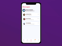 UI: Artificial Intelligence chat screen mobile design app ios flat sendo e-commerce layout vietnam chat artificialintelligence uidesign uiux ui