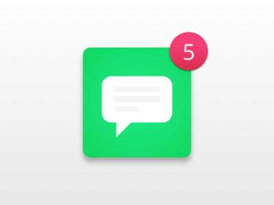 Daily UI #084 - Badge app notification chat icon ux ui badge 084 dailyui