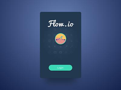 Daily UI #093 - Splash Screen button login app prototype flow splash screen 093 ux ui dailyui