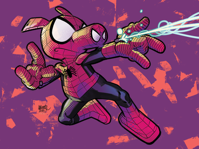 Spider-Ham by David Lafuente & Rico Renzi