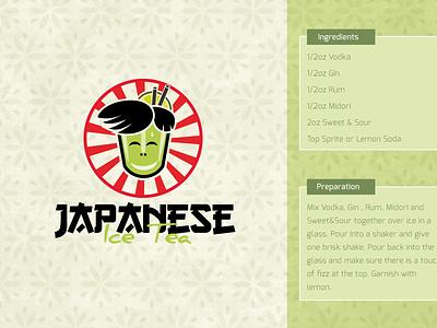 japanese ice tea ice tea green japanese drink menu drinks