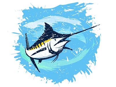 Marlin 03 fishing fish swordfish marlin