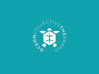 oceancollectivethebrand sea turtle sea ocean apparel turtle logo