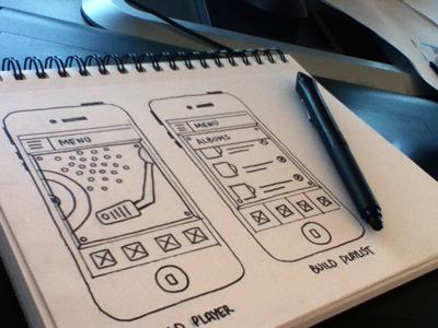 Disctopia Sketch sketch app wireframe