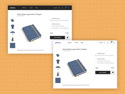 pttrns. ux ui web design