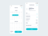Awayco – Reservation Flow (Mobile)