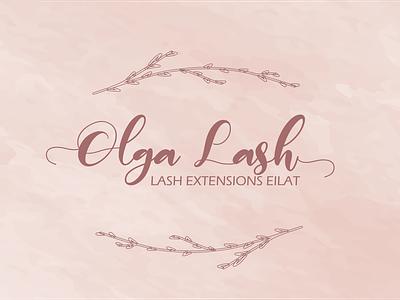 Pink and elegant business card business card high end elegant logotype logomark identity brand design salon beauty pink feminine branding logo vector graphic design design