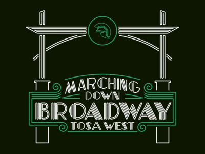 Marching Band Shirt (Front)