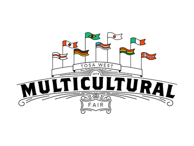 Multicultural Fair Shirt Design international language flag banner shirt multicultural