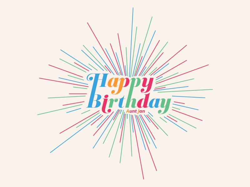It's Your Birthday, Happy Birthday! confetti explosion birthday happy birthday