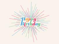 It's Your Birthday, Happy Birthday!