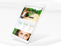 Tablet Homepage Exploration