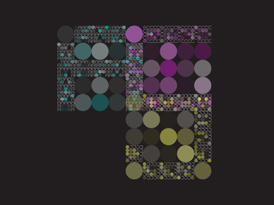 ACJ's Logo design by code 2006 generative random logo fractal ambigram
