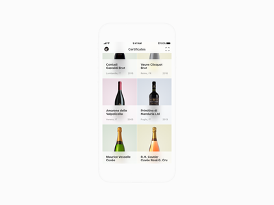 Wine app design mobile app mobile ui wine bar wine