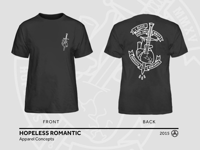 Hopeless Romantic Apparel Concept