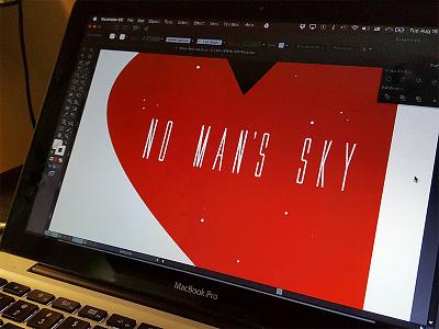 No Man's Sky preview video games no mans sky vivid print poster illustrator minimalistic