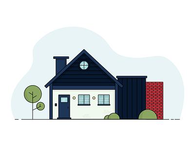 House Illustration sketch app sketch house illustration design