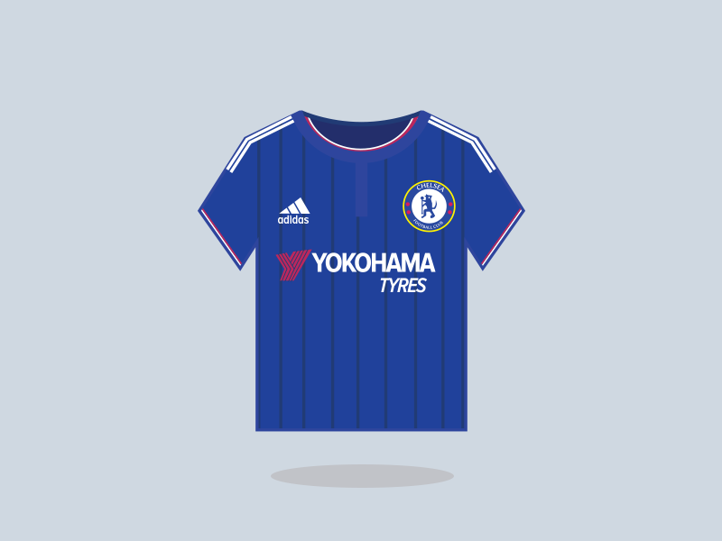 best loved 30524 4109d Chelsea Football Club Home Kit 2015-16 by Saroj Shahi on ...