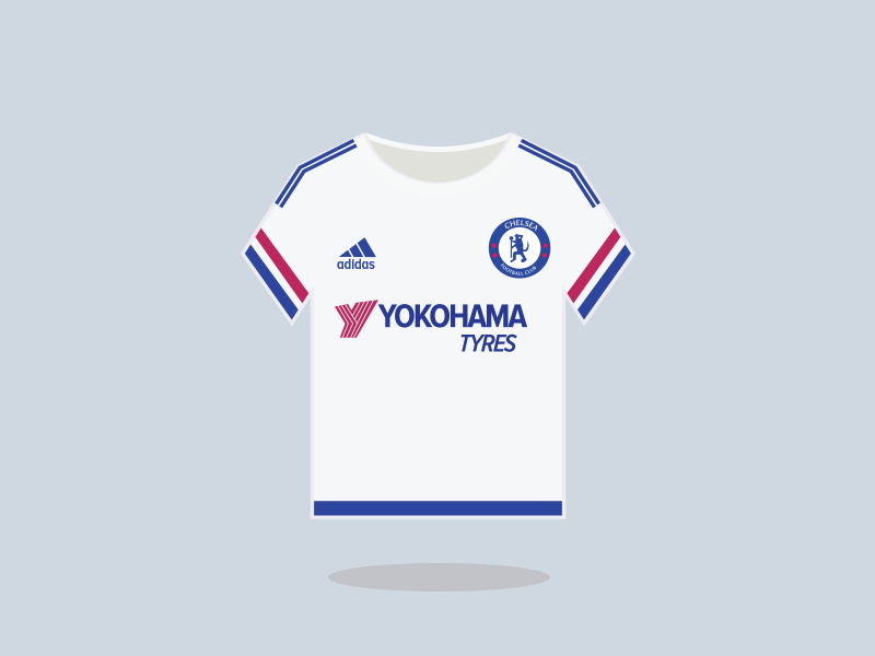 quality design c47a4 c9471 Chelsea Football Club Away Kit 2015-16 by Saroj Shahi on ...