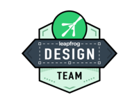 Leapfrog Design Team - Logo
