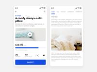 Crowd Funding App - UI