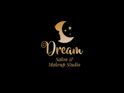Dream Salon & Makup Studio - Logo Design
