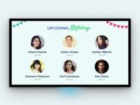 Birthday - TV App