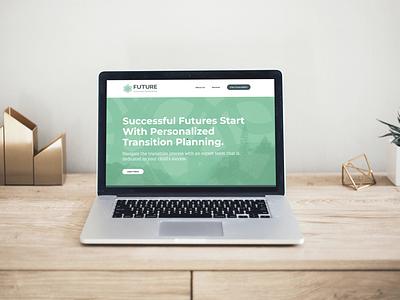 Consultant Website for FUTURE SLTP designer consultant webflow web design website