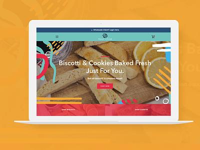 E-Commerce Website for Flour Child design ecommerce design ecommerce shop shopify website design