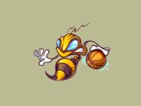 Basketball bee   logo 1