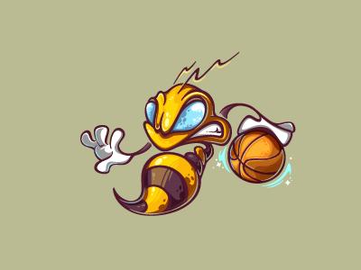 Basketball bee   logo