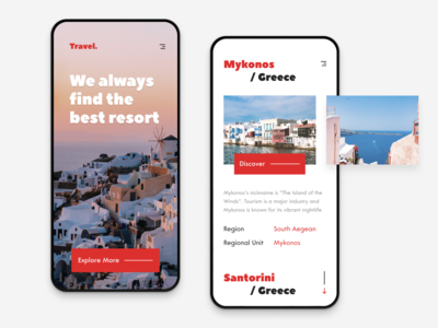Travel Mediterranean App