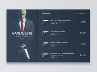 Handguns For Hitman