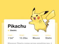 Pokemon detail