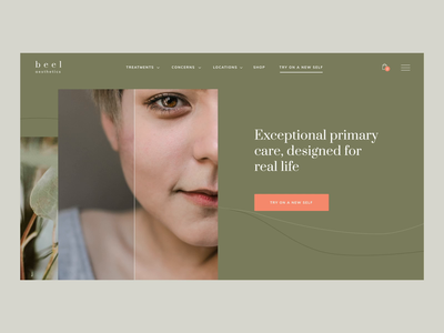 Website Interaction for Dermatology clinic