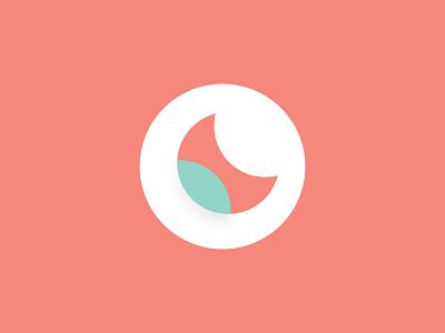 Moonleaf identity branding minimalist minimal logo leaf logo moon logo leaf moon