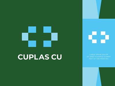 Unused Medical Logo c+c+red cross lettarmark identity branding logo care love hearth medical green health