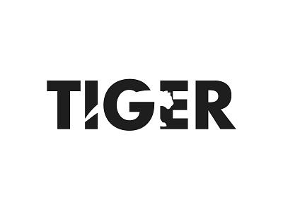 Tiger logotype animal logo animal tiger wordmark tiger letter identity brand lettarmark design logotype branding logo