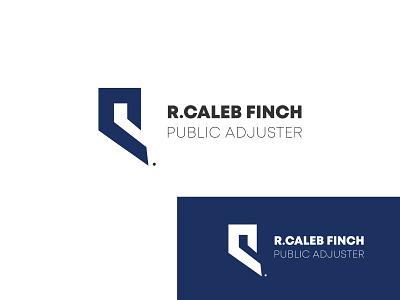 R.+ c + f combination public adjuster business logo letter f c r design identity lettarmark brand branding trend company business adjuster public logo