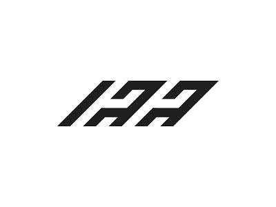 hhaa letter mark logo logo identity brand design lettarmark monogram letter aa hh