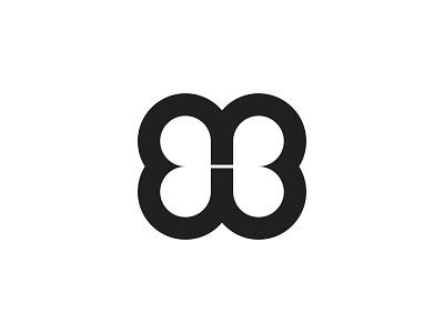 bb initial graphic design branding design identity brand lettarmark logo letter bb b