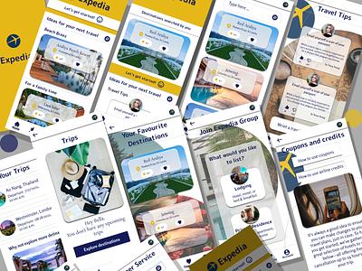 Expedia App Redesign Challenge design app ux ui