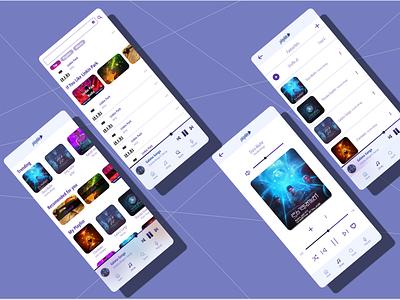 #dailyui #007 - Music Player App design app ux ui