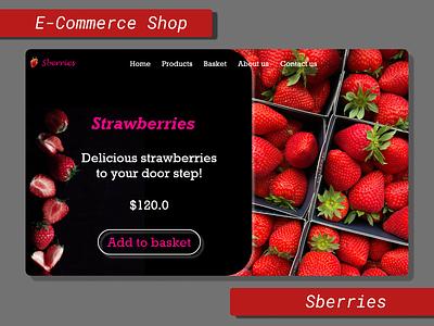 #DailyUI #013 - E-Commerce Shop design app ux ui
